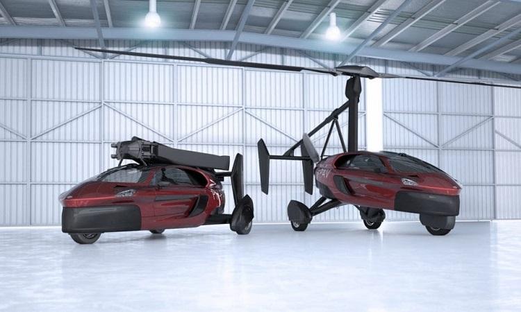 Летучий голландец: В Нидерландах стартовали продажи крылатого автомобиля