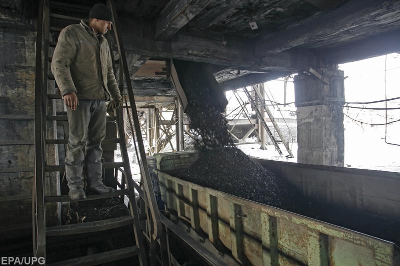 Украина снижает зависимость от дефицитного угля с Донбасса