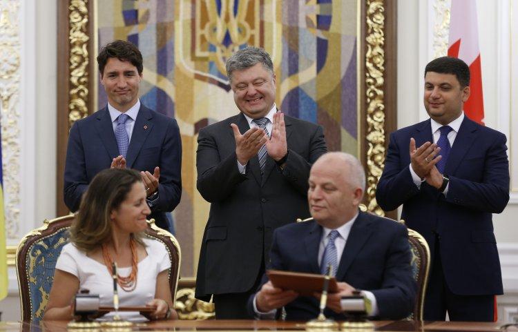 Украина и Канада подписали Соглашение о ЗСТ, работу над которым начинало еще правительство Юлии Тимошенко