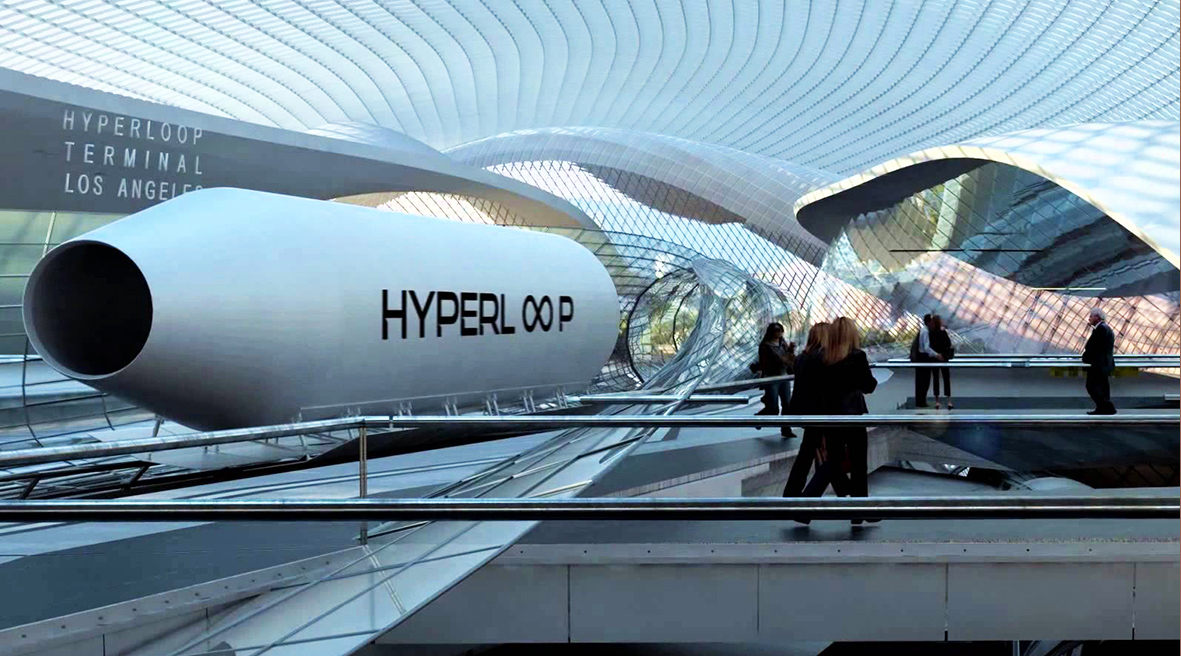 На сегодня Hyperloop находится на стадии тестирования