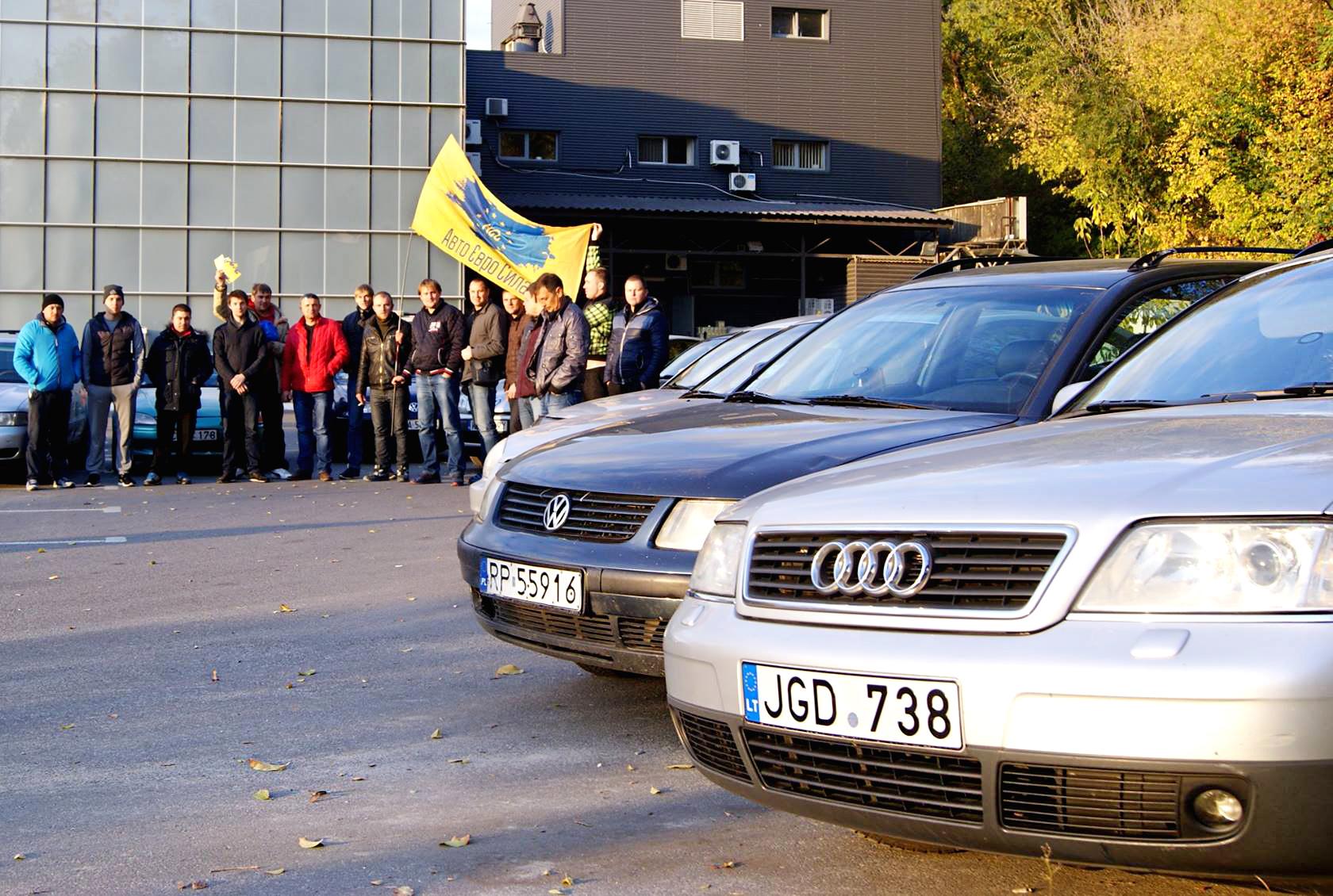 Что стоит за протестами украинских владельцев машин с иностранными номерами