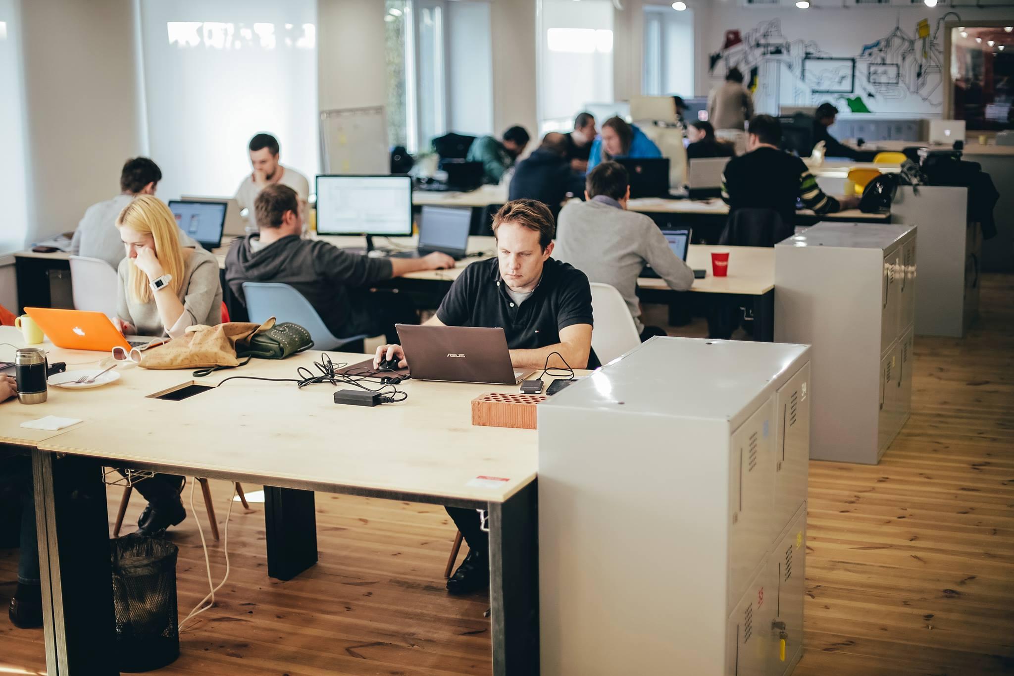 Свободные пространства начинают занимать все большую долю в столичных бизнес-центрах