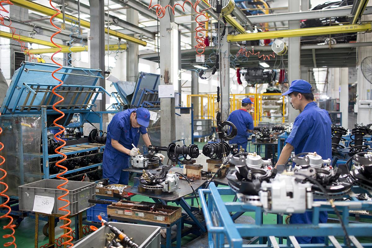 Производства которые сегодня работают на территории Китая могут переехать в Украину